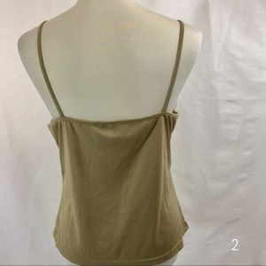 New Directions Tops - New Directions Tan Cami Tank Top